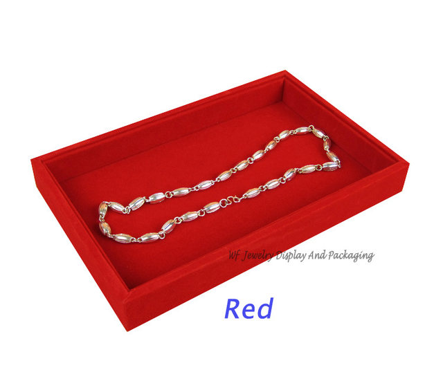 Online Shop Free Shipping Jewelry Display Tray FLat Tray Jewelry