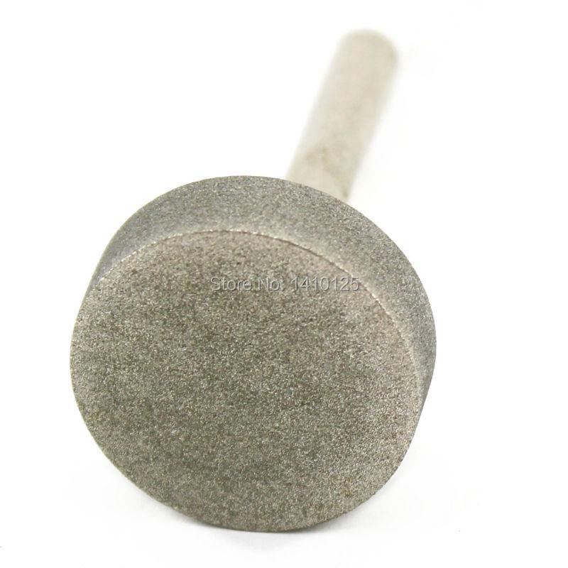 Diamantová brusná hlava 30 mm Válec potažený upevněnými body - Brusné nástroje - Fotografie 3