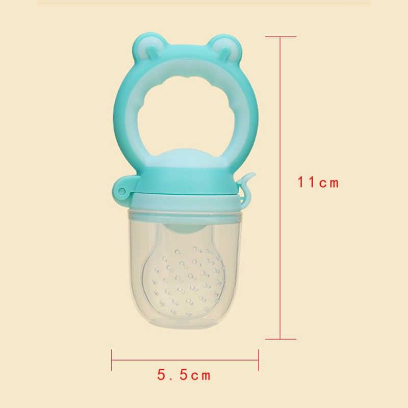 1Pcs Baby Pacifier อาหารสด Nibbler เด็กผลไม้ Feeder Nipples ให้อาหารเด็กปลอดภัยจุกนม Pacifier ผู้ถือขวด
