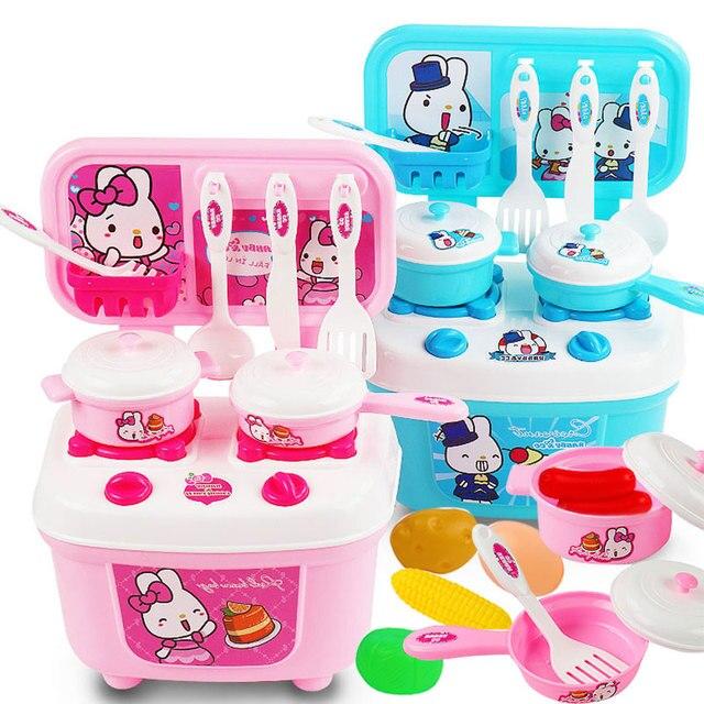 Kids Toys Kitchen Toys Set Pretend Play Kitchen Toys For Girl Food