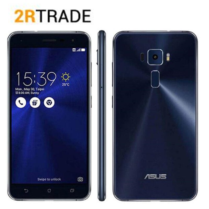 Original Asus Zenfone 3 ZE552KL 5.5 Qualcomm Octa-Core 2.0 GHz Cell Phones Android 8.0 4GB RAM 64GB ROM 16.0MP 4G Smart Phone image
