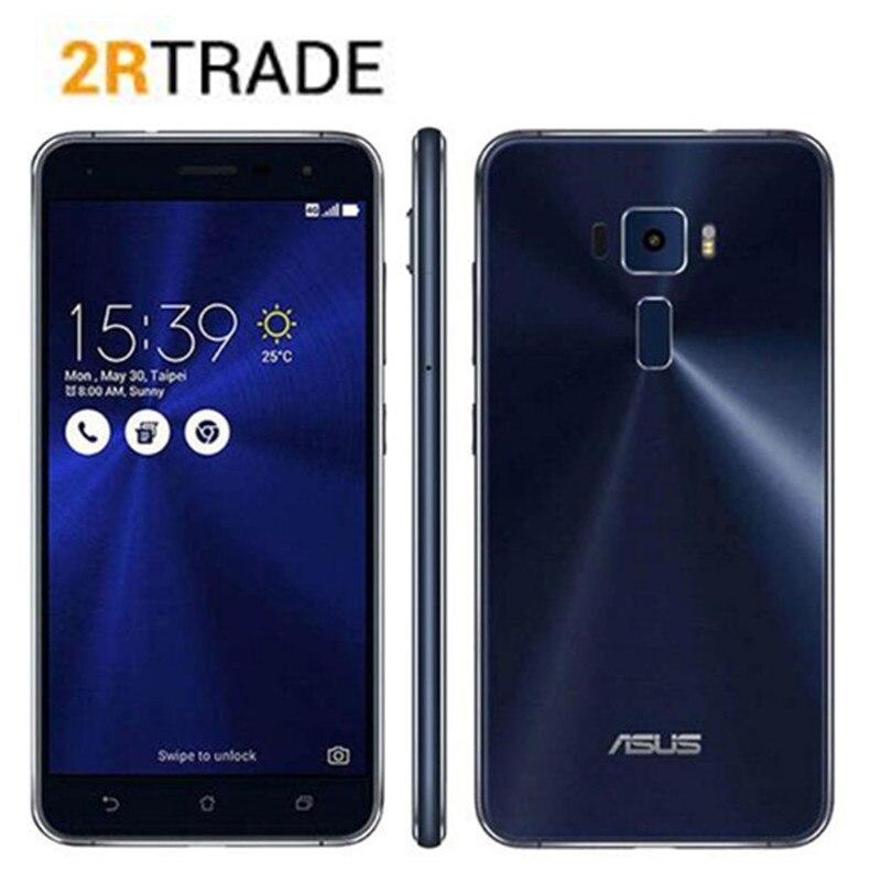 "Original Asus Zenfone 3 ZE552KL 5.5"" Qualcomm Octa-Core 2.0 GHz Cell Phones Android 8.0 4GB RAM 64GB ROM 16.0MP 4G Smart Phone"
