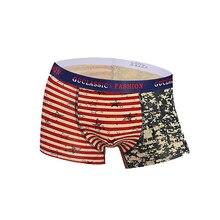 99d4905b94 Verkauf Mode Druck Unterwäsche Männer Boxer der männer Bequeme Unterwäsche  Weiche Atmungsaktive männer Unterwäsche