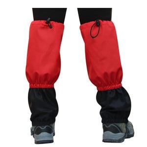 Image 3 - Outdoor Sports getry wodoodporne legginsy Camping, polowanie, piesze wycieczki rękaw na nogę wspinaczka ochraniacze śnieżne getry noga