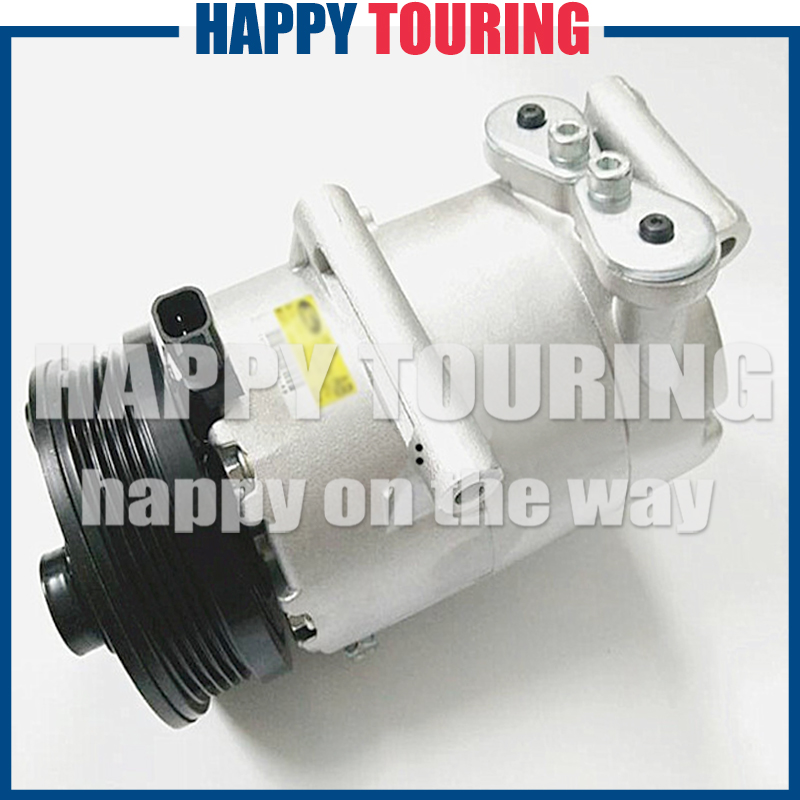CAR AC Compressor VS16 PV5 For FORD FOCUS II C-MAX 1.8 2.0 1333042 3M5H19D629RC 6M5H19D629AB 3M5H19497BD 3M5H19D629RF 1490495