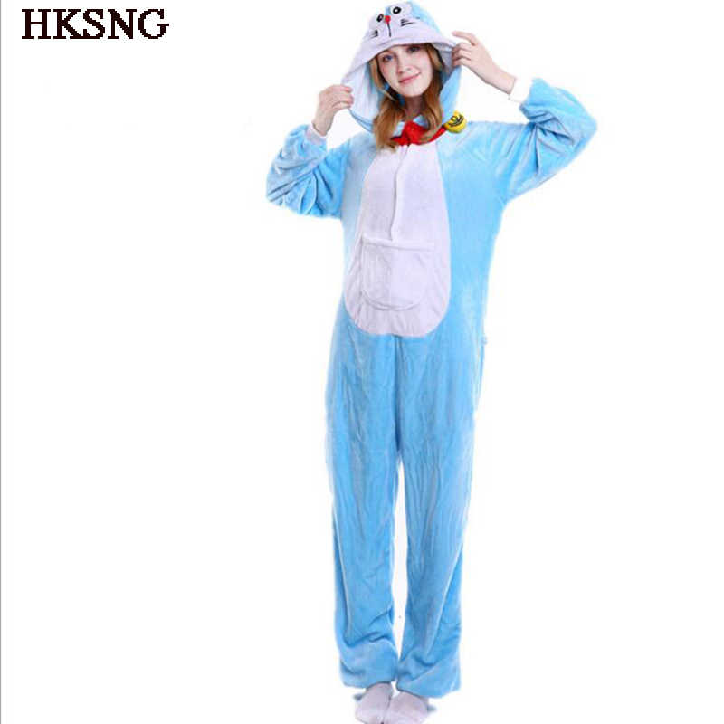 d0bed0cd7 Detail Feedback Questions about HKSNG Doraemon Pajamas Winter Adult ...