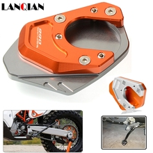 for KTM 990 Adventure S Motorcycle Kickstand Side Stand Plate Pad Enlarge Extension AdventureS 2007 2008
