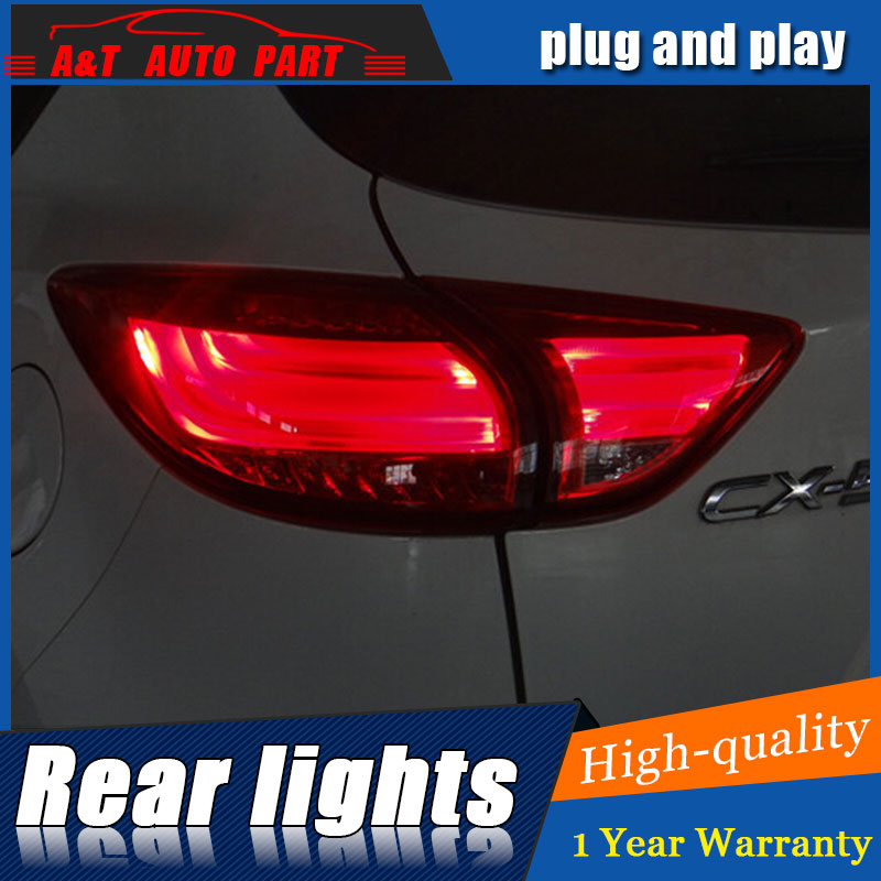Auto Clud Car Styling for Mazda CX-5 Taillights 2011-2015 Mazda CX-5 LED Tail Lamp Rear Lamp DRL+Brake+Park+Signal led lights. car styling tail lamp for mazda cx 5 2011 2015 tail lights led tail light rear lamp led drl brake park signal stop lamp
