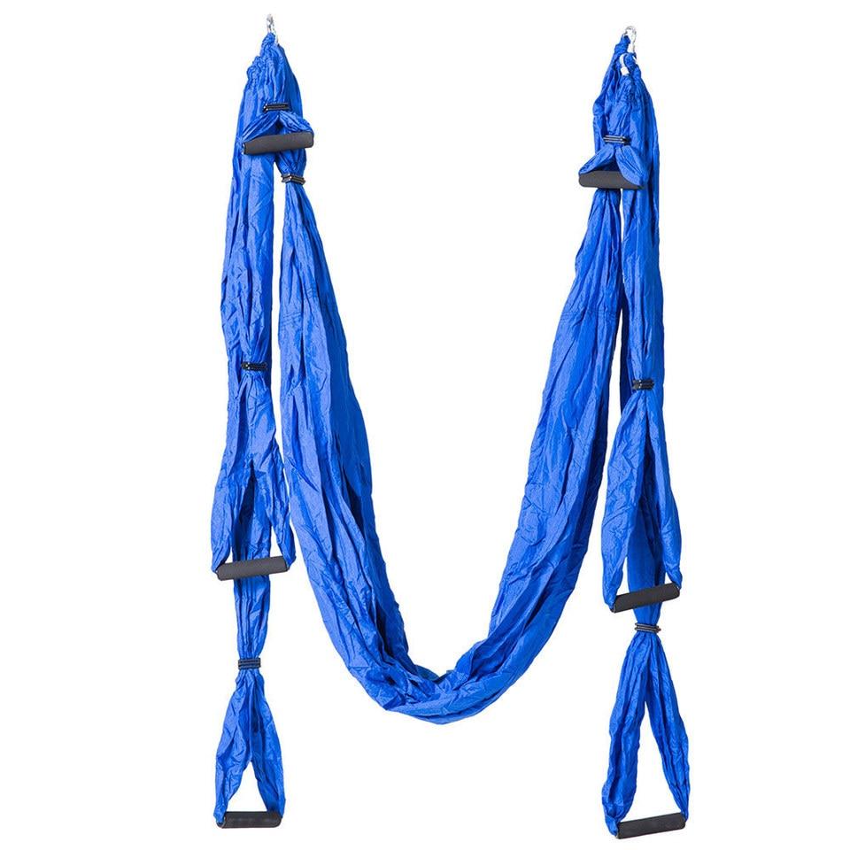 Aerial Yoga Ayunan Terbang Hammock Anti Gravity 6 Pegangan Tangan Kursi Gantung Ultra Kuat Sling Untuk Antigravity Fitness Hanging Chair Hammock Hammockswing Hammock Aliexpress