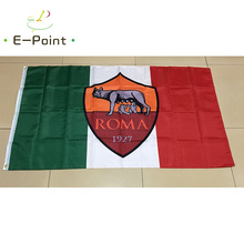 Italy Roma FC 3ft*5ft (90*150cm) Size Christmas Decorations for Home Flag Banner Type B Gifts