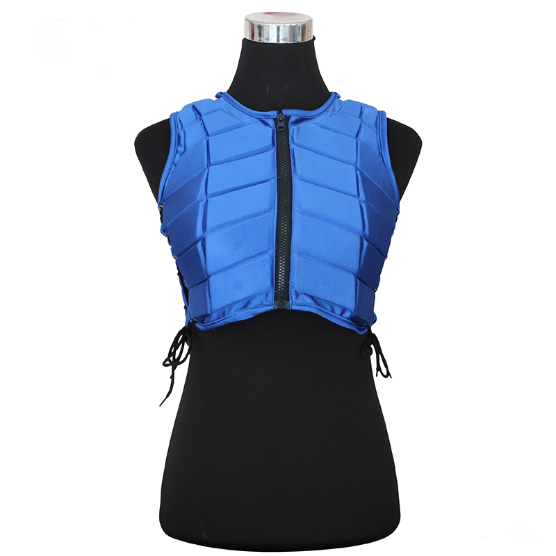 Man Women Black Safety Horse Riding Protection Vest Waistcoat Safe Equestrian Body Unisex Adjustable Horse Racing