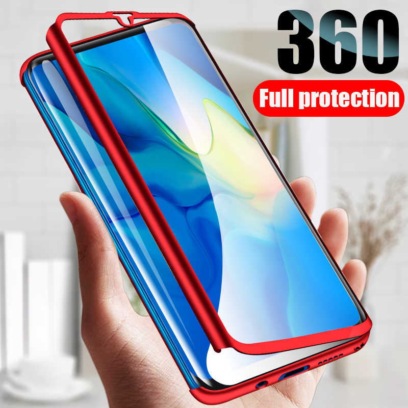 360 Full Cover Phone Case For Huawei P30 P20 Lite Case P10 Mate 10 20X 20 Pro Protective Cover Nova 3 3i 2i P Smart 2019 Cover