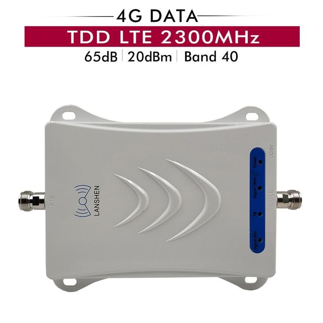 مقوي إشارة الهاتف المحمول TD LTE 2300 (شريط LTE 40) TDD 2300MHz مقوي إشارة الهاتف الخلوي مكبر للصوت للمملكة العربية السعودية والهند وإندونيسيا