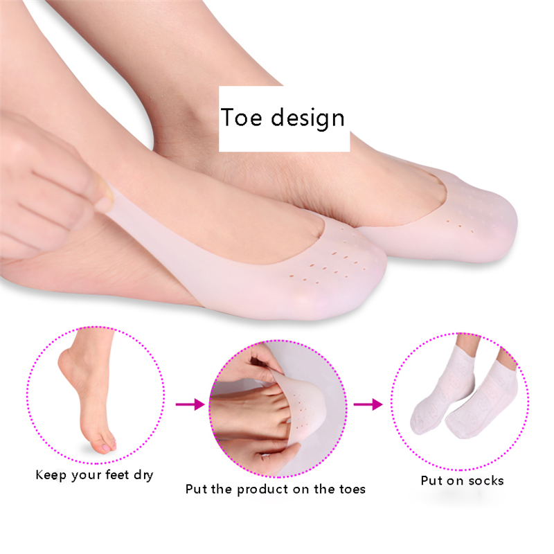 Image 5 - Silicone Gel Toe Soft Ballet Pointe Dance Shoes Pads Foot Care Protector High Heels Toe Pads Gel Orthopedic Massager-in Foot Care Tool from Beauty & Health