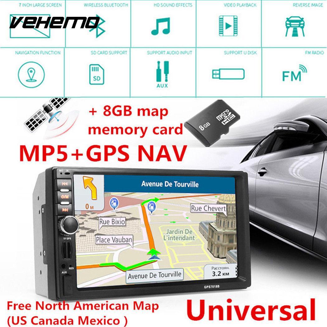 7 pouces Flexible Auto MP5 lecteur voiture lecteur vidéo Radio Support TF carte intelligente Bluetooth FM écran tactile 12 V