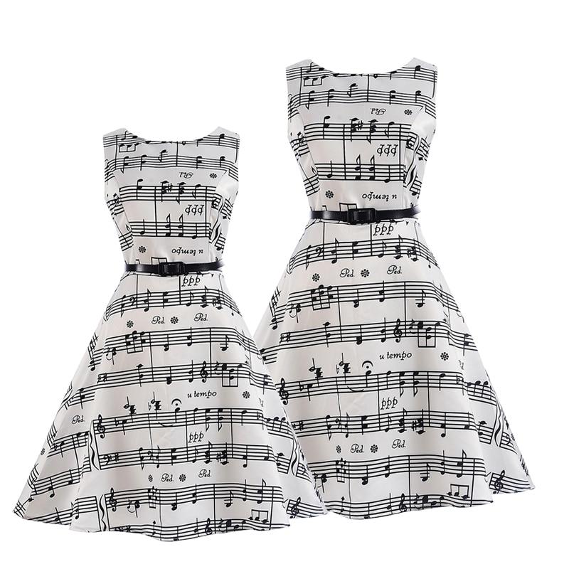 Trouwjurk voor meisjes Mom dochter jurken Zomer feestkleding Familie - Kinderkleding - Foto 5