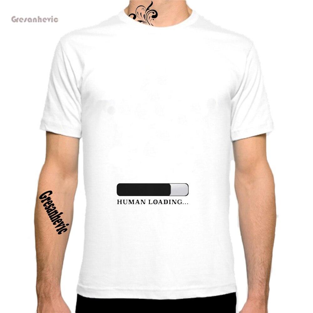 Carregamento de Nova Moda Homem T-Shirt de Algodão O Pescoço Dos Homens de  Manga Curta Mens camiseta Masculina Tops Tees Atacado fb93b96a7a