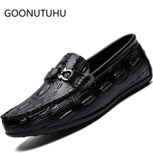 2019 style fashion men's shoes casual leather loafers male classic brown & black slip on shoe man driving shoes for men hot sale ubfen 2017 hot sale casual shoes for men handmade slip on comfortable and soft fashion classic loafers male lazy driving shoes