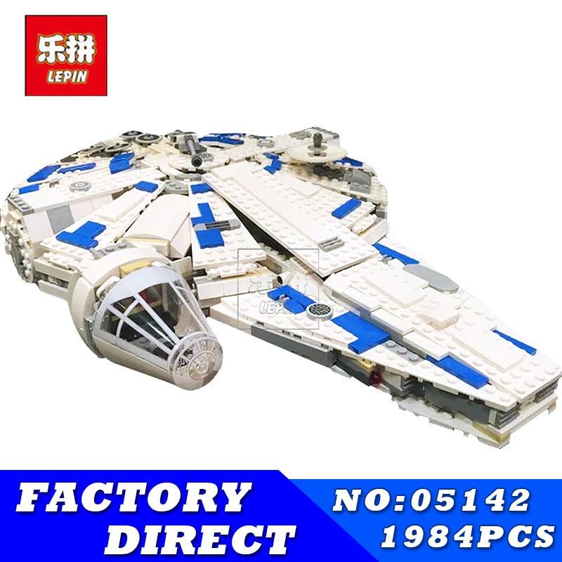 Lepin 05142 Toys 1584Pcs Star Plan Series The 75212 Kessel Run Millennuim Falcon Set Building Blocks Bricks Kids Toys in presell конструктор lepin star plan истребитель набу 187 дет 05060