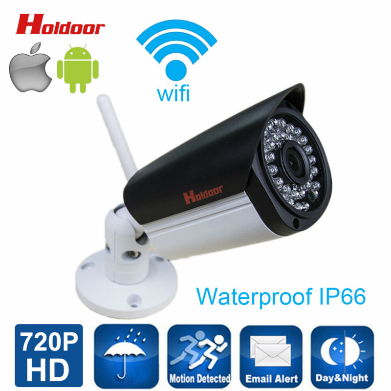 ФОТО Wifi IP Camera P2P for Smartphone IP66 Waterproof Bullet Camera 1080P 2.0 Megapixel WiFi HD Network Surveillance Camera with IR