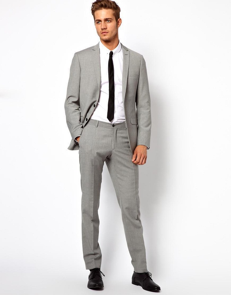 Light grey summer suit online shopping-the world largest light ...
