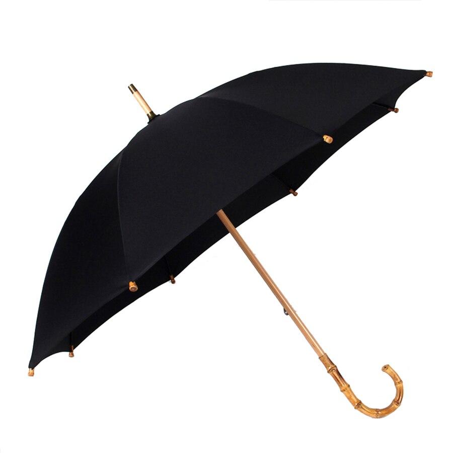 Grande poignée Creative ensoleillé parapluie pluie coupe-vent ombre parapluie poche Parasol Jardin fait main Parasol pluie parapluies 80D0333 - 5