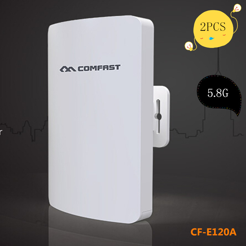 2 pz Comfast 300 M 5G mini wireless outdoor cpe e wifi router con 11dbi Antena wi-fi rete ponte per long range wifi ricezione
