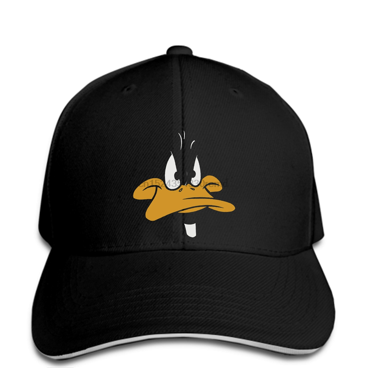 hip hop Baseball caps Funny Men hat cap Black Details About Looney Tunes  Men s Daffy Duck 53b70e22de2