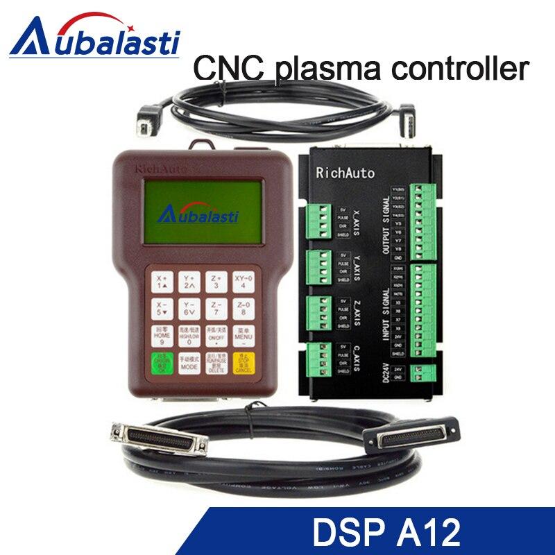 RichAuto A12 CNC contrôleur de plasma DSP A12S A12E système de contrôle de CNC USB version anglaise