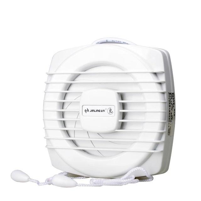6 Inch 8 Window Fan Exhaust In Toilet Rope Sealed Mute Remove TVOC