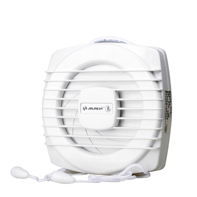 6 inch /8 inch window fan exhaust fan in toilet rope sealed mute fan window kitchen fume exhaust fan mute shutter blower