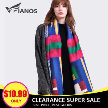 VIANOSI Clearance Sale Cashmere Scarf Women Brand Thicken Woman Foulard Wool Bufandas Warm Bandana Winter Shawls and Scarves - DISCOUNT ITEM  70% OFF All Category
