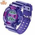 Nova marca HOSKA crianças relógios de luxo Digital Quartz relógio de pulso Sports eletrônico à prova d ' água menino lazer menina relógio estudante