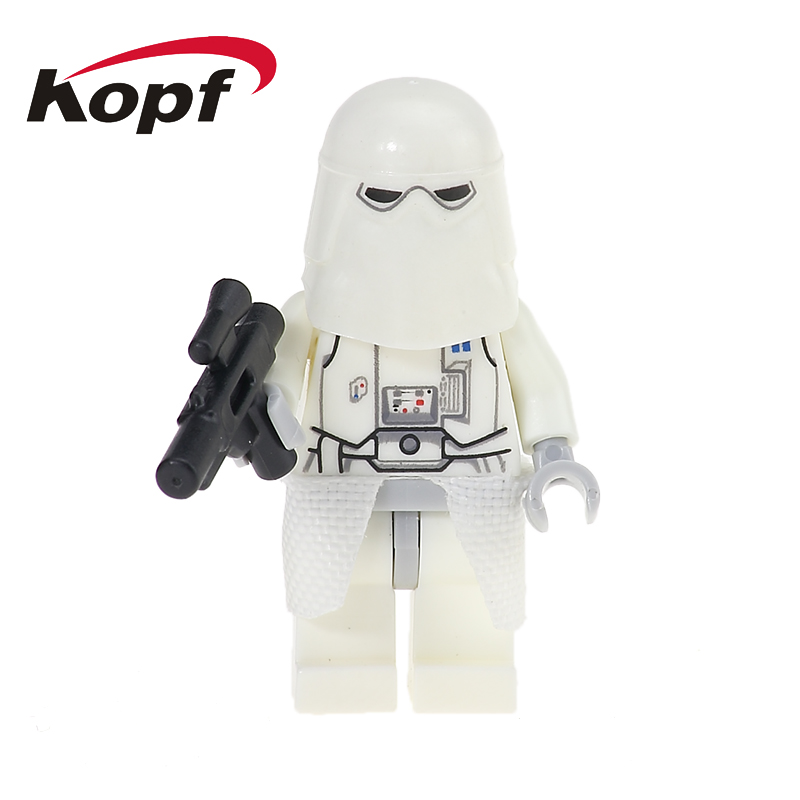 Single Sale Building Blocks Grand Admiral Thrawn Imperial Snowtrooper Jar Jar Binks Action Figures For Children Dolls Toys PG703