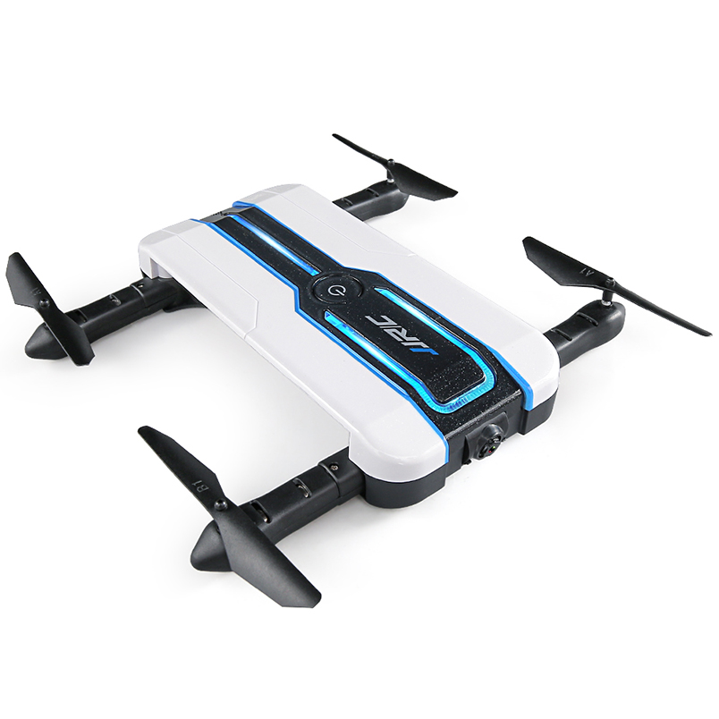 JJRC H61 RC Drone with 720P Camera Selfie Wifi FPV Foldable Quadcopter 6-Axis Gyro Phone Control Altitude Hold Mini Drones jmt cg030 foldable 0 3mp camera drone wifi fpv 6 axis gyro altitude hold headless rc quadcopter mini drone app control rc dron