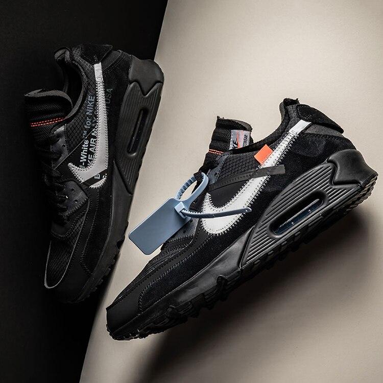 air max off white black