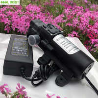 S235 Self-priming DC water pump 12V 60W 5L/min Mini Pump motor with adapter for garden mist cooling system