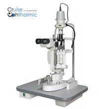 Разрез лампы микроскоп S360 HL 5 шагов увеличения | светодиодные лампочки | FDA СЕ офтальмологических Pro