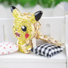 Pokemon Pikachu Figure Alloy keychain