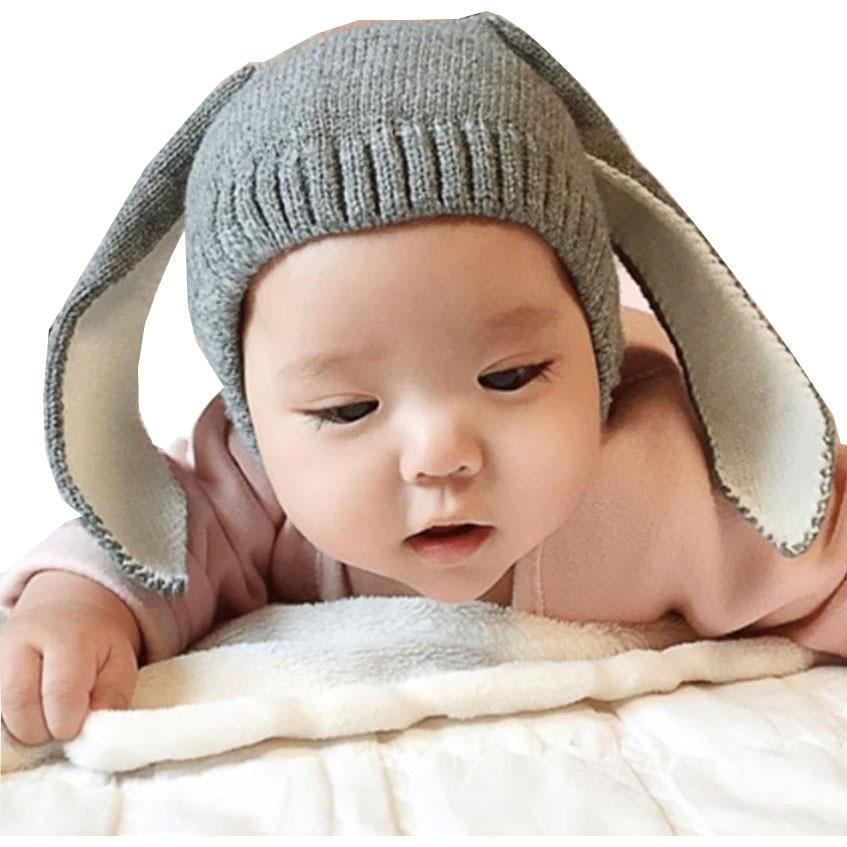 SIF Baby Toddler Kids Boy Girl Knitted Crochet Rabbit Ear ...