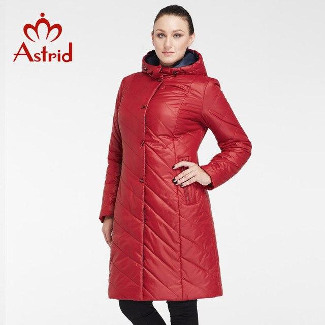 2017 Астрид Мода осень и зима пальто Плюс Размер Женщины Длинные пальто Женщины куртка теплая большого размера куртки пальто зимы AM-8031