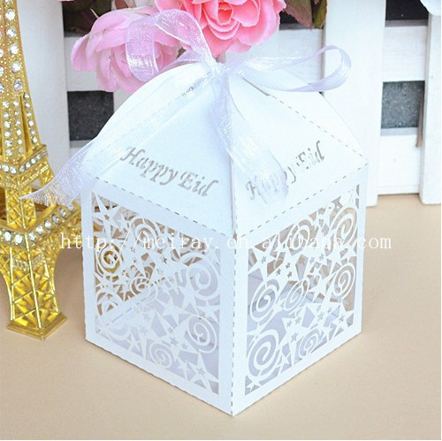 wedding cake take home bags personalized wedding decoration laser cut wedding fovors 26204