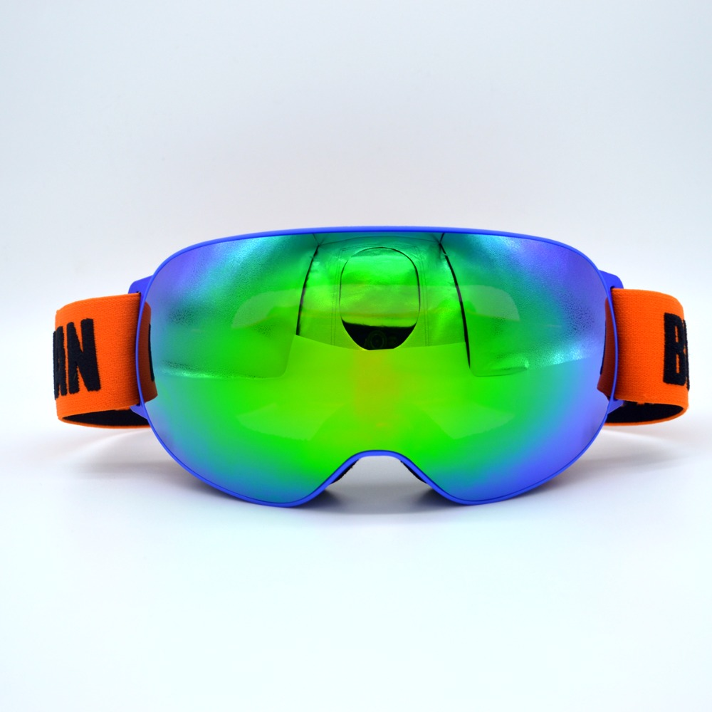 Nouveautés Professionnel Polarisées Homme Femmes Masque de Ski Double Lentille Ski Lunettes UV-protéger Sports de Neige Lunettes de Ski Lunettes