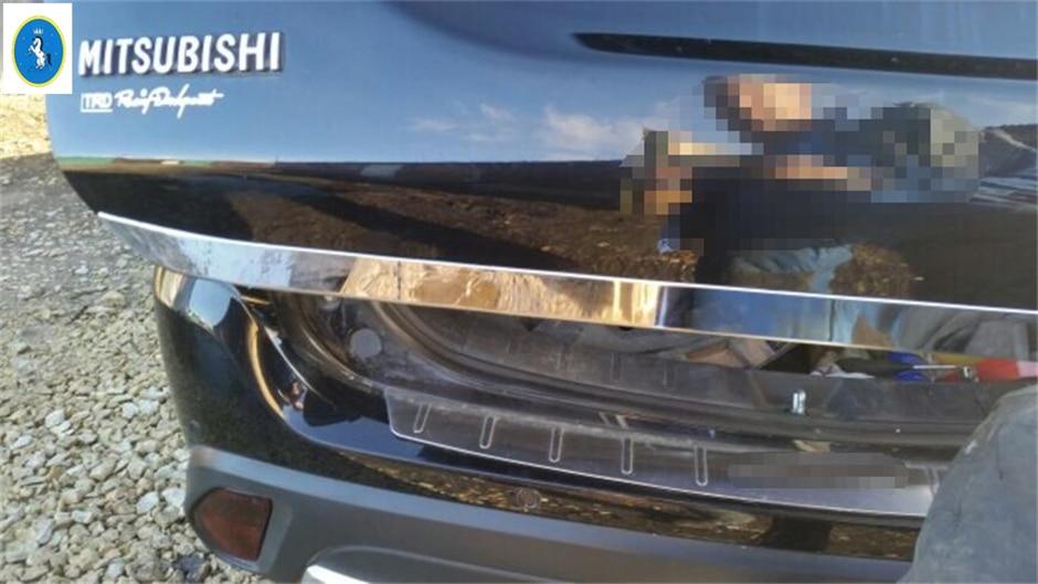 Θήκη με οπίσθιο πίσω κορμό Chrome - Ανταλλακτικά αυτοκινήτων - Φωτογραφία 3