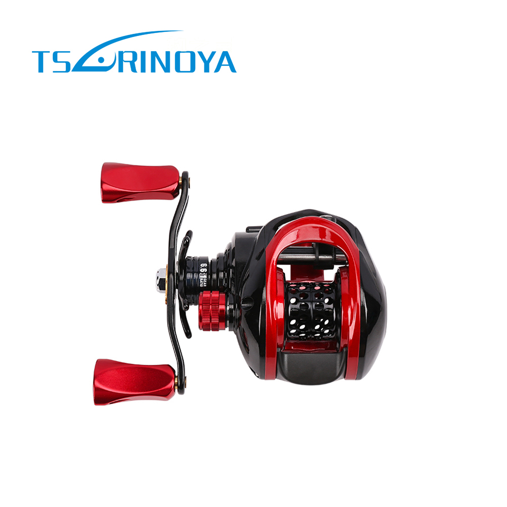 Tsurinoya Baitcasting bobine poids de leurre 1.5-15g 9 + 1BB 6.6: 1 système de frein magnétique 190g bobine de pêche en carbone pour leurre léger XF-50