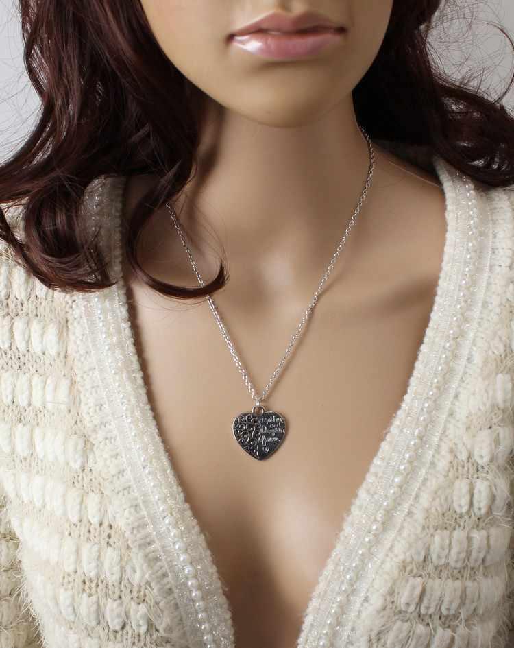 2018 nueva venta caliente de la hija de la madre amor eterno collar de joyería venta al por mayor 1 piezas venta al por mayor de joyería