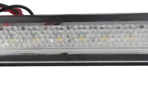 Image 4 - Tira de luces LED para barco marino, 12V, luz de paso de plástico blanco para pasillo, accesorios para autocaravanas RV