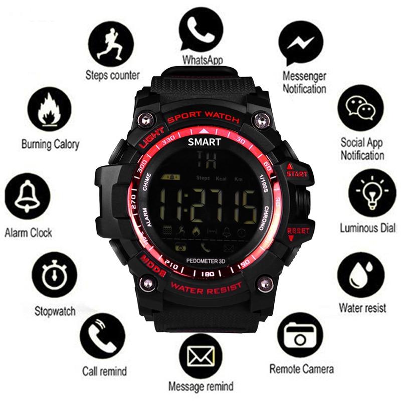 Pedometer Watch Sport-Bracelet Intelligent Bluetooth Step-Counter Waterproof Men Man