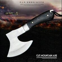 CS Sharp F702 Томагавк для выживания топорный топор для кемпинга ручной огненный топор обвалочный нож для измельчения мясных костей