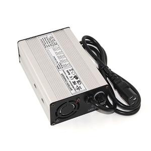 Image 4 - Carregador inteligente de bateria de íon de lítio, 54.6v 3a para 13s 48v 48.1v, scooter elétrico, cadeira de bicicleta ebike e roda de íon lítio carregador de bateria para bateria